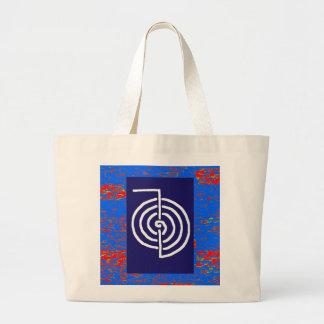 CHOKUREI  Reiki Basic Healing Symbol TEMPLATE gift Canvas Bag
