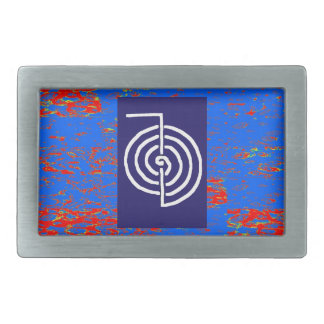 CHOKUREI  Reiki Basic Healing Symbol TEMPLATE gift Rectangular Belt Buckles