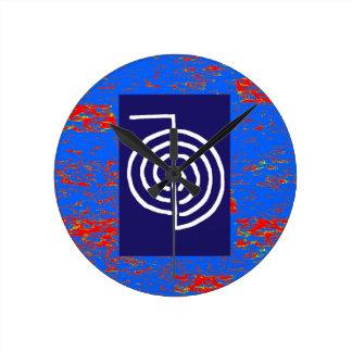 CHOKUREI  Reiki Basic Healing Symbol TEMPLATE gift Wallclocks