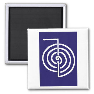 CHOKUREI  Reiki Basic Healing Symbol TEMPLATE gift Magnets