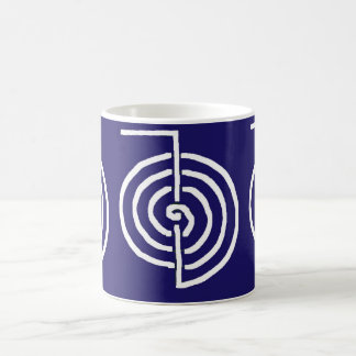CHOKUREI  Reiki Basic Healing Symbol TEMPLATE gift Classic White Coffee Mug
