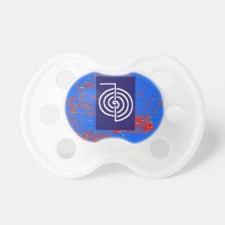 CHOKUREI  Reiki Basic Healing Symbol TEMPLATE gift Pacifier