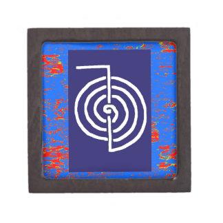 CHOKUREI  Reiki Basic Healing Symbol TEMPLATE gift Premium Jewelry Boxes