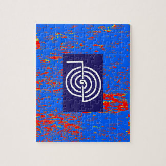 CHOKUREI  Reiki Basic Healing Symbol TEMPLATE gift Jigsaw Puzzles