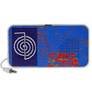 CHOKUREI  Reiki Basic Healing Symbol TEMPLATE gift iPhone Speakers