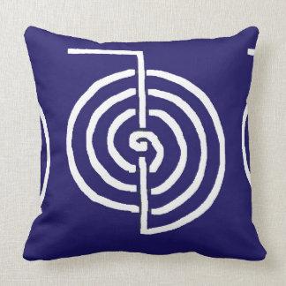 CHOKUREI  Reiki Basic Healing Symbol TEMPLATE gift Throw Pillow