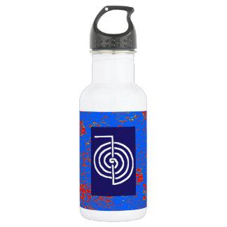CHOKUREI  Reiki Basic Healing Symbol TEMPLATE 18oz Water Bottle