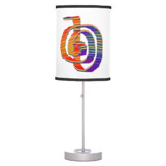 CHOKUREI reiki healing :  Colorful Celebrations Table Lamp