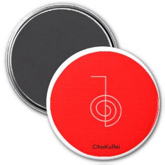 ChoKuRei Symbol Color 3 Inch Round Magnet