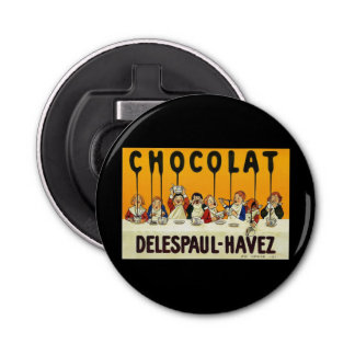 Cholat Delespaul Havez Children with Cocoa Syrup Bottle Opener