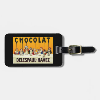 Cholat Delespaul Havez Children with Cocoa Syrup Luggage Tag