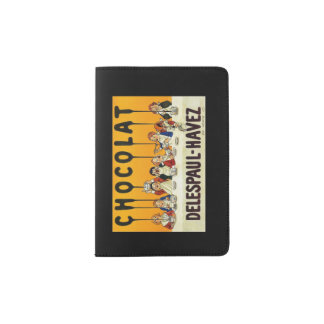 Cholat Delespaul Havez Children with Cocoa Syrup Passport Holder