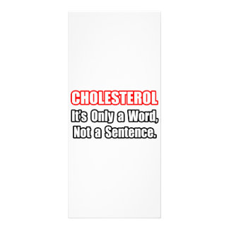 Cholesterol...Not a Sentence Customized Rack Card