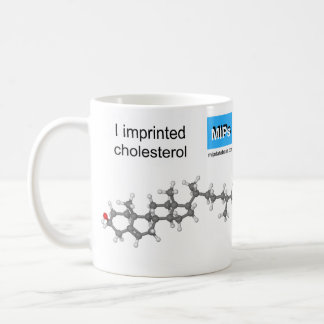 cholesterol template mug ball and stick