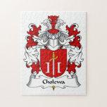 Cholewa Family Crest Puzzle