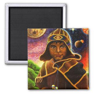 Cholito Mystico  2 Inch Square Magnet