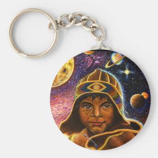 Cholito Mystico  Basic Round Button Keychain