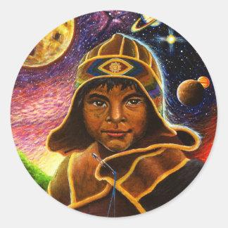 Cholito Mystico  Classic Round Sticker