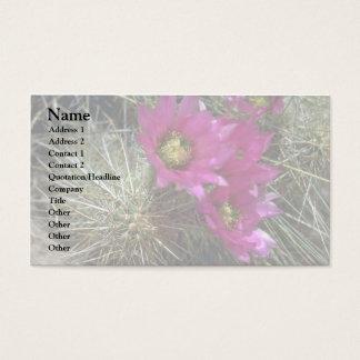Cholla Cacti Business Card