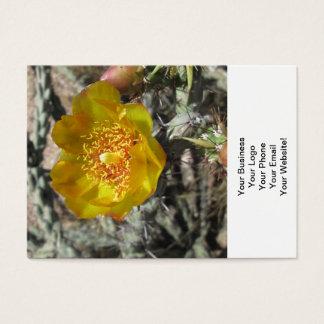 Cholla Pretty Desert Flower Business Card
