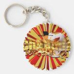 Chollima soccer football Artwork gear Key Chain
