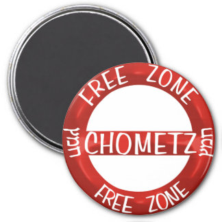 Chometz Free 3 Inch Round Magnet
