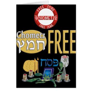 Chometz Free Card