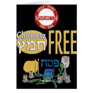 Chometz Free Greeting Card