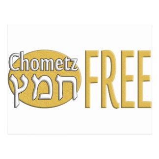 Chometz Free Postcard