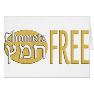 Chometz Free Stationery Note Card