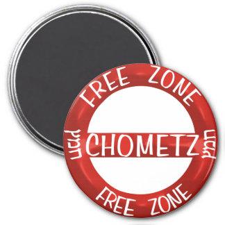 Chometz libera imanes