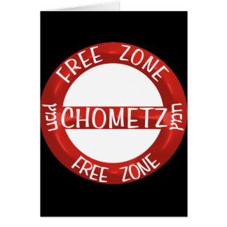 Chometz libera felicitaciones