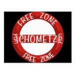 Chometz libera tarjeta postal