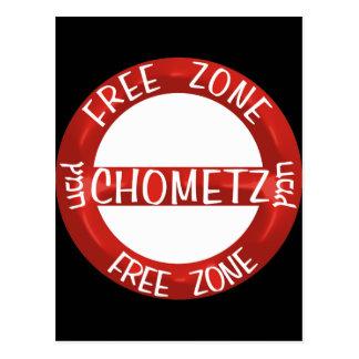 Chometz libera postal