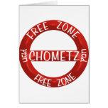 Chometz libera tarjeton