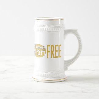Chometz libera jarra de cerveza