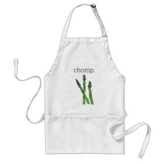 chomp. (asparagus) adult apron
