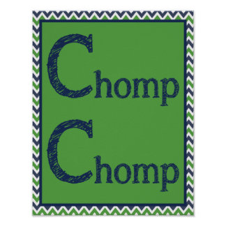 Chomp Chomp Poster