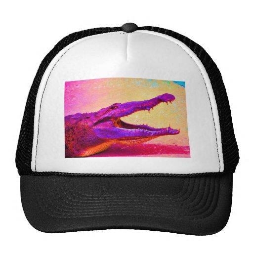 Chomp! Chomp! Rainbow Gator! Trucker Hat