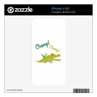 Chomp Chomp iPhone 4S Skins