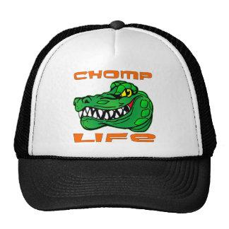 Chomp el cocodrilo de la vida gorro de camionero
