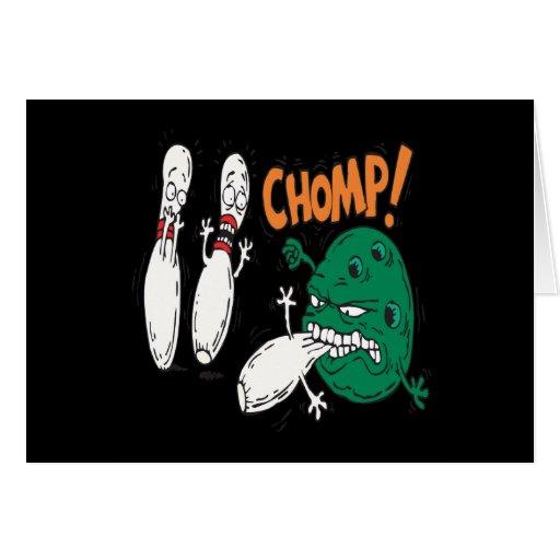 Chomp Greeting Card