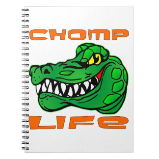 Chomp Life Gator Spiral Notebook