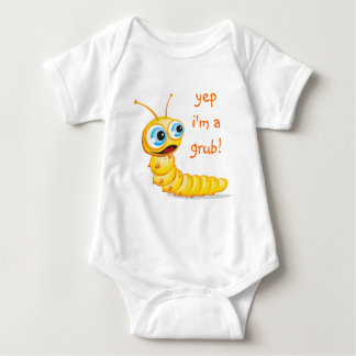 Chomp the Grub :: Baby Bodysuit