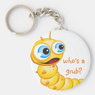 Chomp the Grub :: Keychain