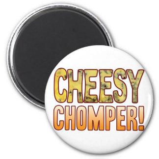 Chomper Blue Cheesy Magnet