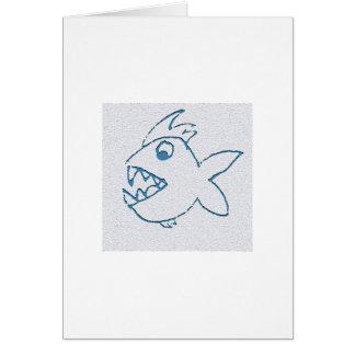Chomper Fish Card