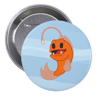 Chomps el botón de la mascota pin