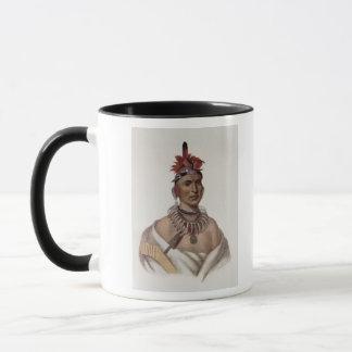 Chon-Ca-Pe or 'Big Kansas', an Oto Chief Mug