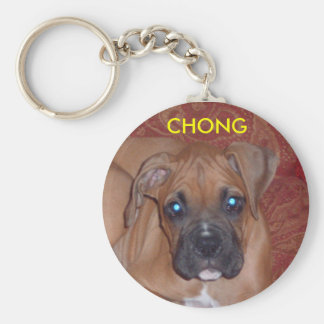 chong 7.5.07 - Modificado para requisitos particul Llavero Redondo Tipo Pin